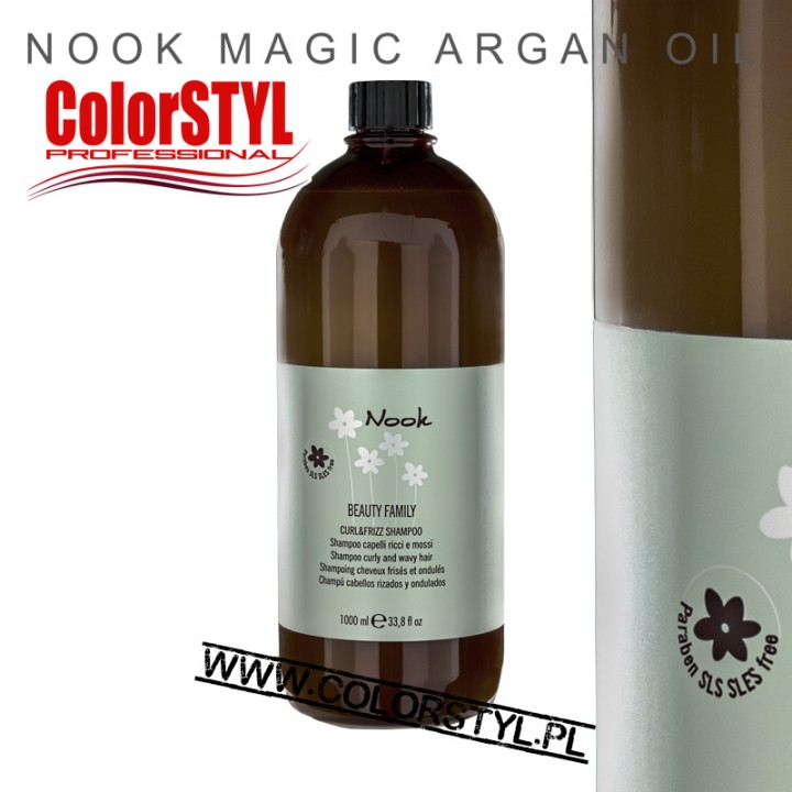NOOK MASKA DO LOKÓW CURL&FRIZZ1L.