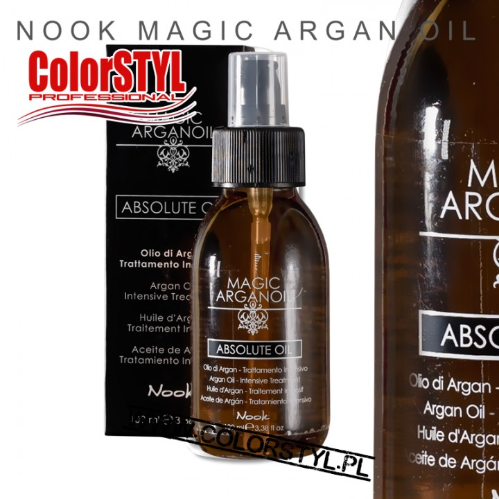 NOOK ARGAN OIL OLEJEK ARGANOWY 100ML
