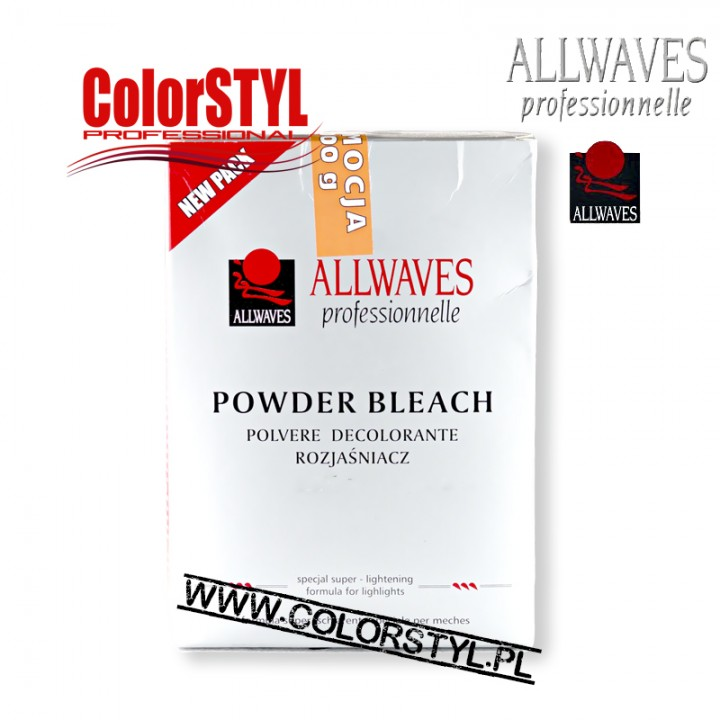 ALLWAVES ROZJAŚNIACZ POWDER BLEACH 1KG