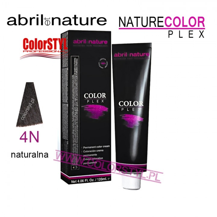 ABRIL ET NATURE COLOR PLEX FARBA 120ML 4N