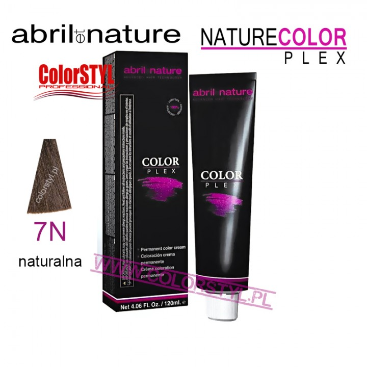 ABRIL ET NATURE COLOR PLEX FARBA 120ML 7.N