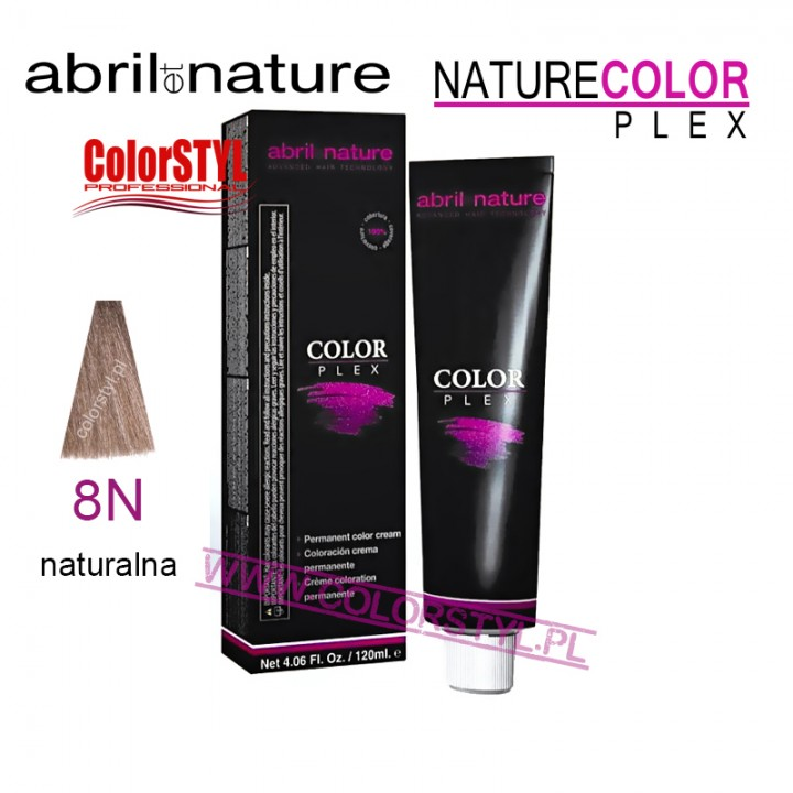 ABRIL ET NATURE COLOR PLEX FARBA 120ML 8N