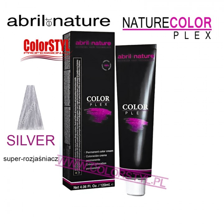 ABRIL ET NATURE COLOR PLEX FARBA 120ML SILVER