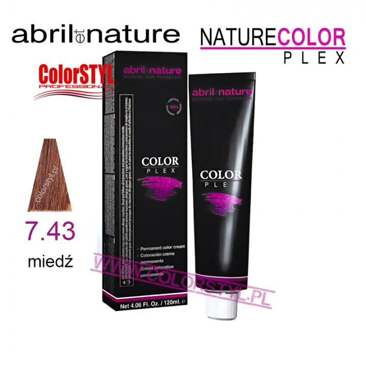 ABRIL ET NATURE COLOR PLEX FARBA 120ML 7.43