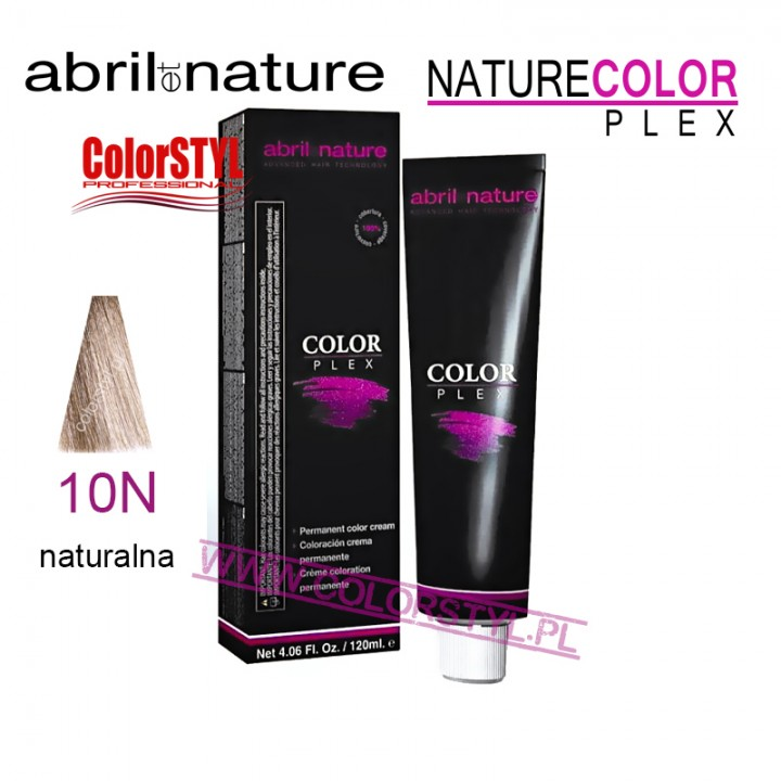 ABRIL ET NATURE COLOR PLEX FARBA 120ML 10N