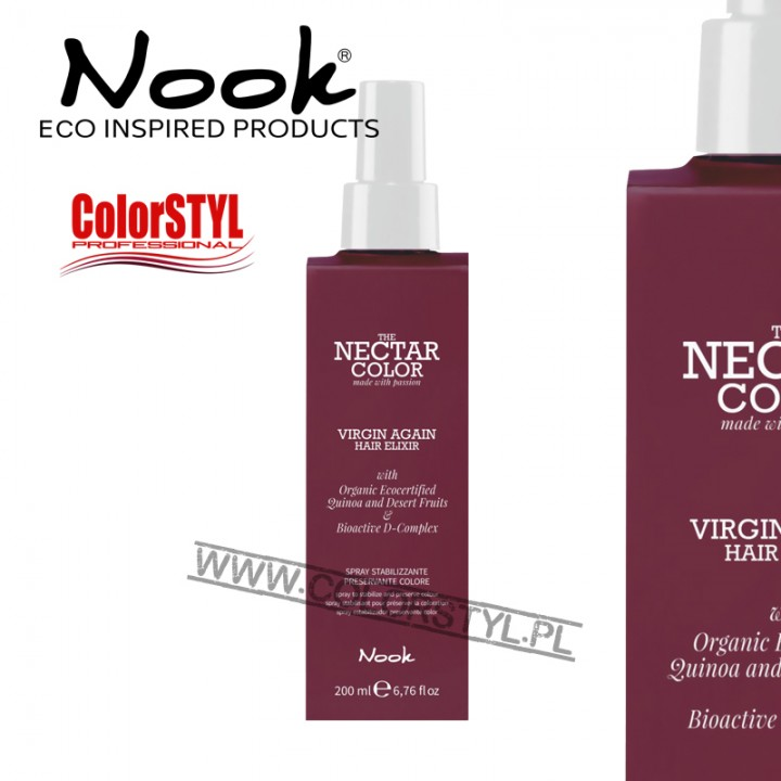 NOOK NECTAR VIRGIN SPRAY STABILIZUJĄCY KOLOR 200ML