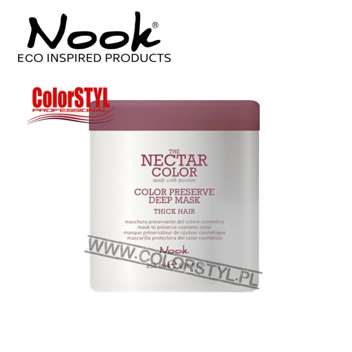 NOOK NECTAR COLOR PRESERVE MASKA WŁ.GRUBE 250ML