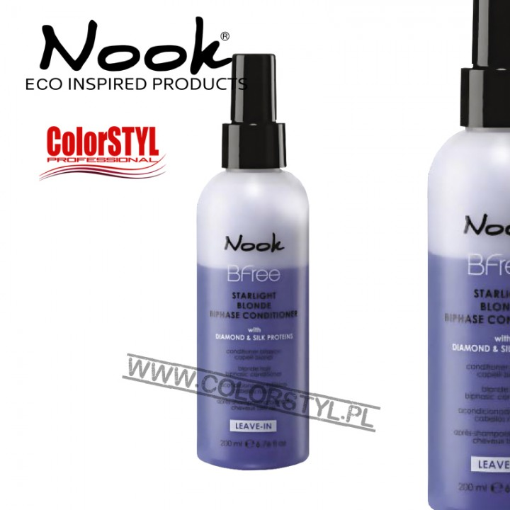 NOOK BFREE ODŻYWKA DWUFAZOWA DO WŁ. BLOND 200ML