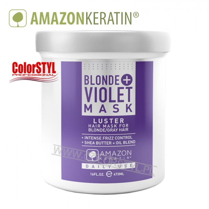 AMAZON KERATIN MASKA BLONDE+VIOLET 473ML