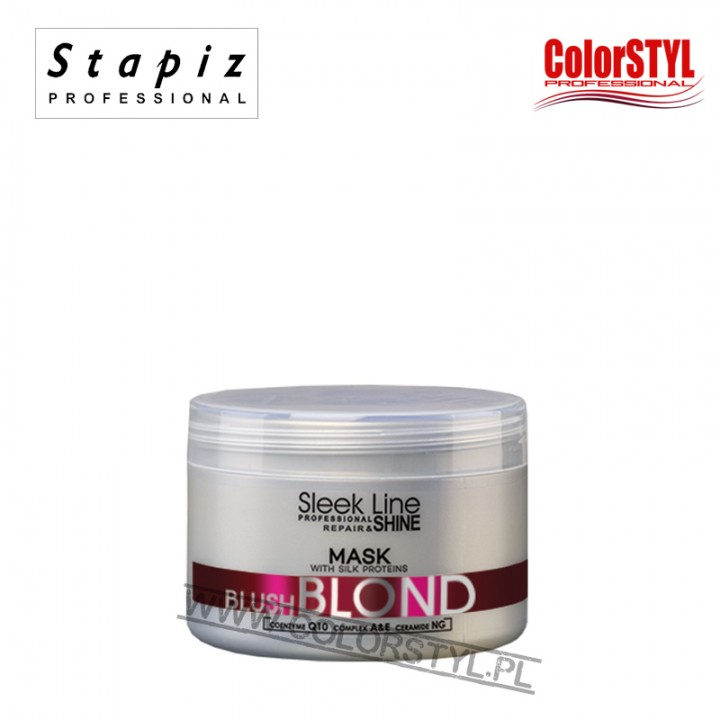 STAPIZ MASKA BLOND BLUSH SLEEK LINE 250ML