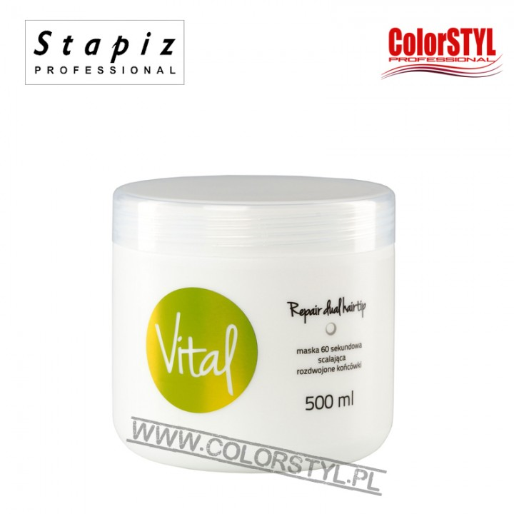 STAPIZ MASKA 60S VITAL REPAIR DUAL HAIRTIP 500ML