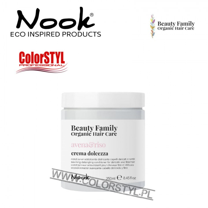 NOOK BEAUTY FAMILY ODŻYWKA AVENA&RISO 250ML