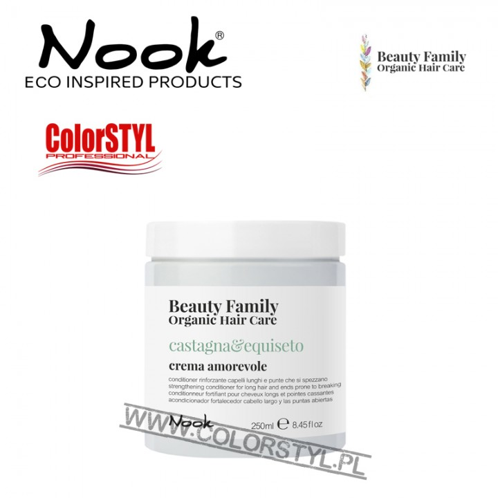 NOOK BEAUTY FAMILY ODŻYWKA CASTAGNA&EQUISETO 250ML
