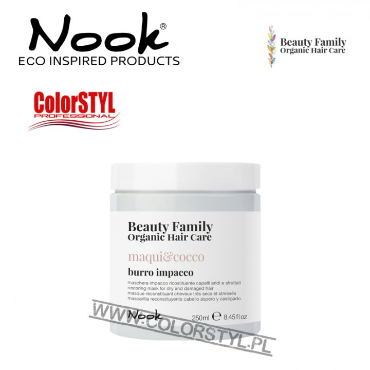 NOOK BEAUTY FAMILY MASKA MAQUI&COCCO 250ML
