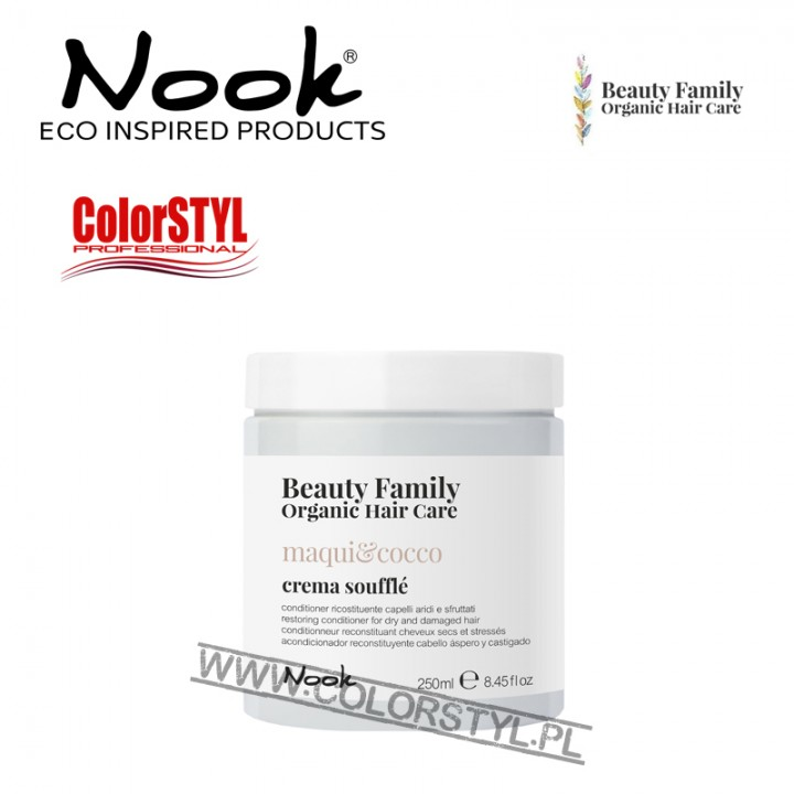 NOOK BEAUTY FAMILY ODŻYWKA MAQUI&COCCO 250ML