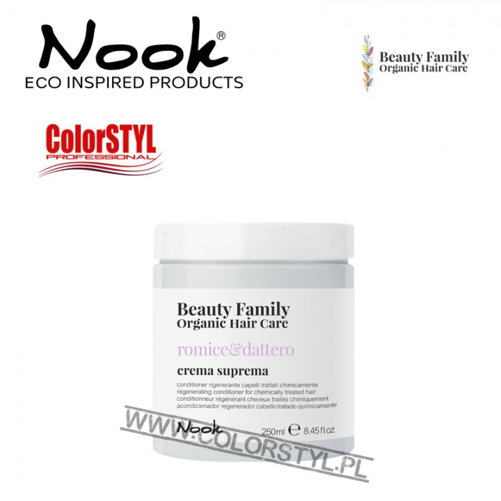 NOOK BEAUTY FAMILY ODŻYWKA ROMICE&DATTERO 250ML